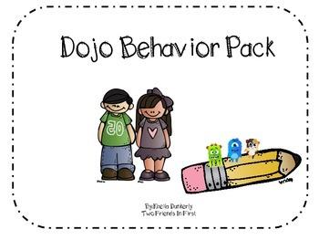 Dojo Behavior Chart