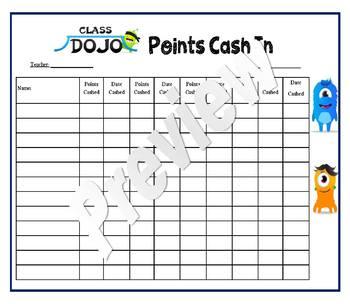 Dojo Currency reward classroom management system / discipline