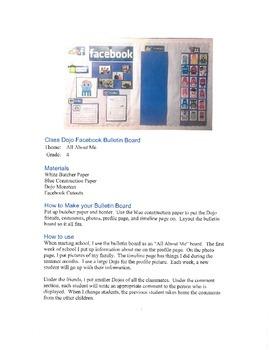 Dojo Facebook Bulletin Board