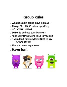 Group Rules: Dojo