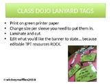 Dojo Lanyard Tags