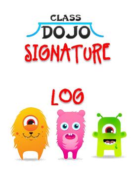 Dojo Log Book