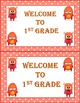 Dojo Monster Welcome to First Grade Cards