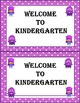 Dojo Monster Welcome to Kindergarten Postcards