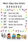 Dojo Point Rewards Poster