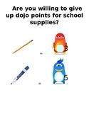 Dojo Points for School Supplies