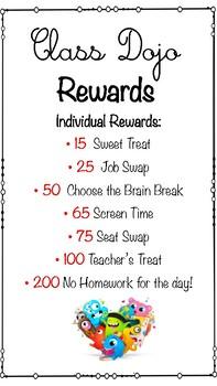 Dojo Reward Poster