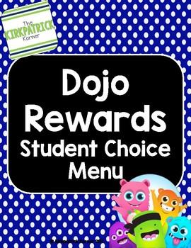 Dojo Rewards Choice Menu