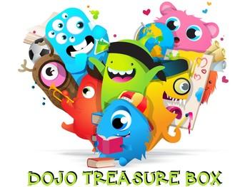 Dojo Treasure Box Label