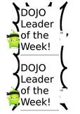 Dojo Weekly Certificate