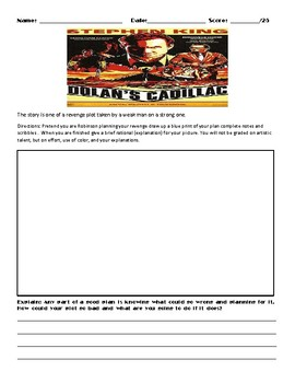 Dolan's Cadillac by Stephen King Assignment