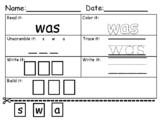 Dolce Primer Sight Words Practice Worksheet