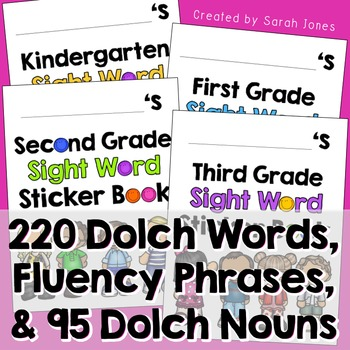 Dolch Sight Word Books BUNDLE