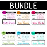 Dolce Sight Words-  315 Flash Cards - Bundle