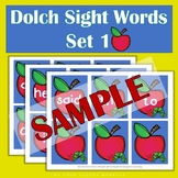 Dolch Sight Words - set 1