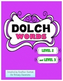 Dolce Words - Level 2 and Level 3