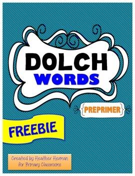 Dolce Words - Preprimer
