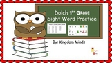 Dolch 1st Grade Sight Word Activity