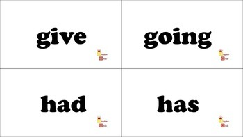 Dolch 1st Grade Sight Word Flash Cards
