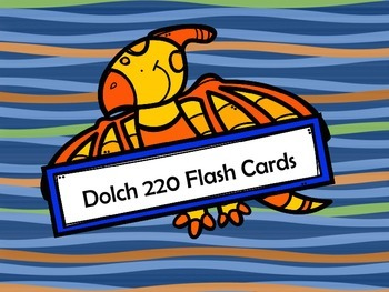 Dolch 220 Flash Cards
