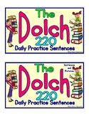Dolch 220 Sight Word Practice Sentences With and Without Picture Clues