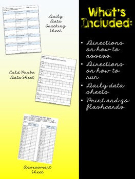 Dolch 2nd Grade Sight Word Incremental Rehearsal Pack