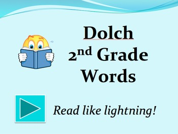 Dolch 2nd Grade Words PowerPoint