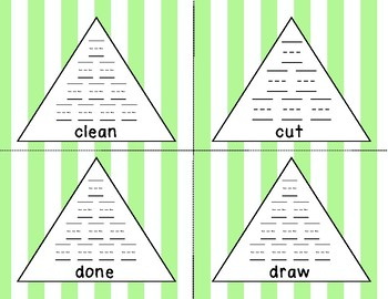 Dolch 3rd Grade Pyramid Writing Practice **FREEBIE**