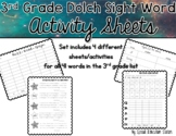 Dolch 3rd Grade Sight Word Activity Set