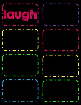 Dolch 3rd Grade Sight Word Flash Cards/Word Wall Cards