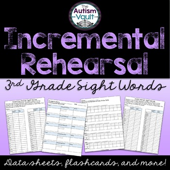 3rd Grade Sight Word Incremental Rehearsal Pack