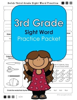 Dolch 3rd Grade Sight Word Practice