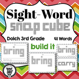 Dolch Sight Words Snap Block - 3rd Grade