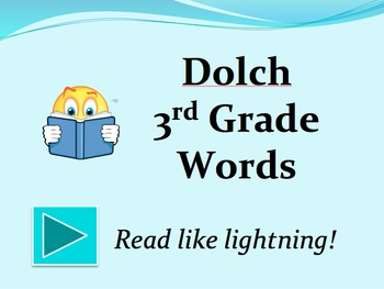 Dolch 3rd Grade Words PowerPoint