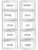Dolch 3rd Grade flash Cards