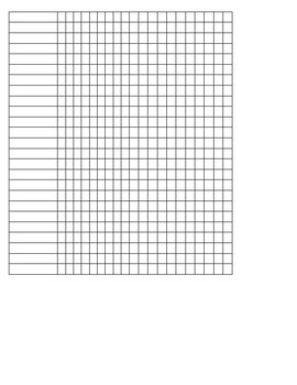 Dolch And Fry Sight Word List and Tracking Sheet