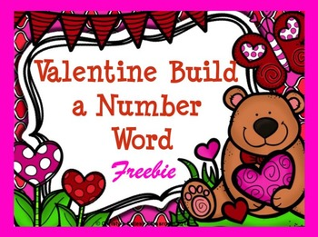 Dolch Build a Number Word 0-12 Freebie