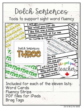 Complete Dolch Sight Word Bundle