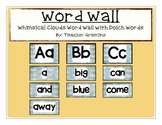 Dolch Complete Word Wall -Whimsical Clouds - All Alphabet