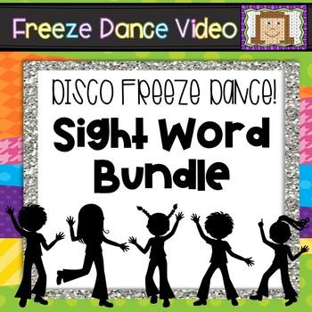 Dolch Disco Freeze Dance Bundle