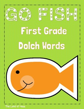 Dolch First Grade Go Fish