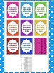 Dolch Dot 1st  Grade Sight Word High Frequency Words Tracking System