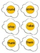 Dolch First Grade: Sight Word Egg Game