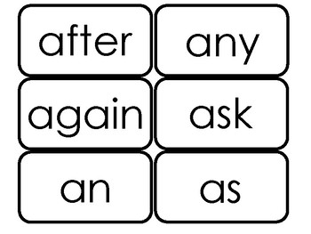 First Grade Dolch Sight Word Flashcards Teacher Made 1st Grade Reading