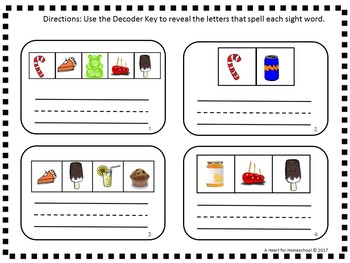 Dolch First Grade Sight Word Puzzle Cards