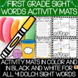 Dolch First Grade Sight Words Activity Mats Set