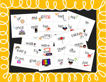 Dolch First Grade Sight Words Intervention Pack