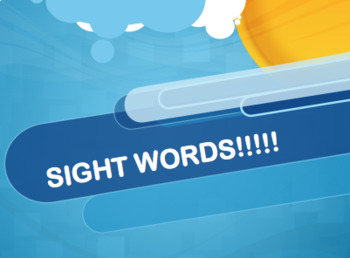 Dolch First Grade Sight Words Powerpoint