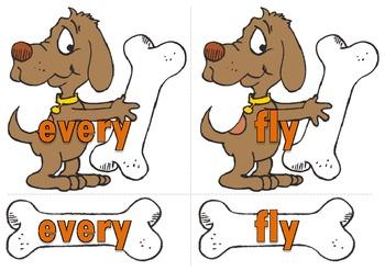 First Grade Sight Words Word Matching