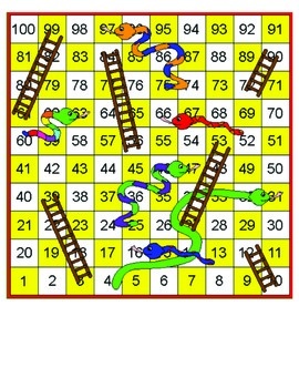 Dolch First Grade Snakes and Ladders Word Game
